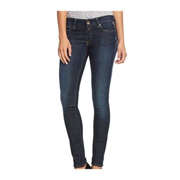 Replay Damen Hyperflex Laserblast LUZ Jeans 5 Pocket Jeanshose WX689