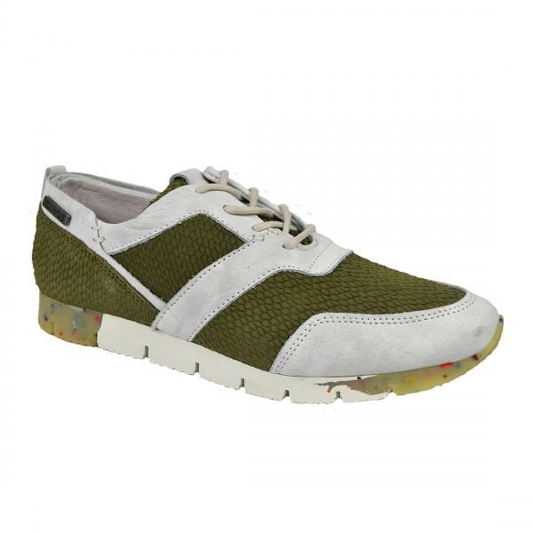 Yellow Cab Damen Sneaker TOPIC W Y22079 Leder Sneakers Schuh Green
