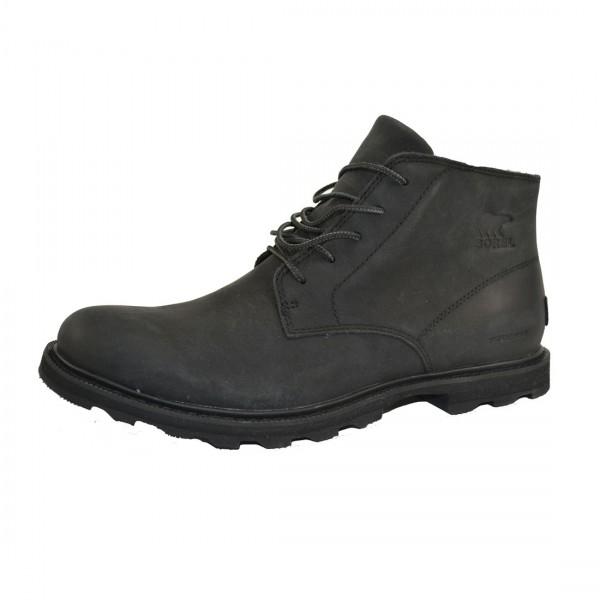 Sorel Madson Chukka Herren Leder Schuhe Boots Waterproof Schwarz