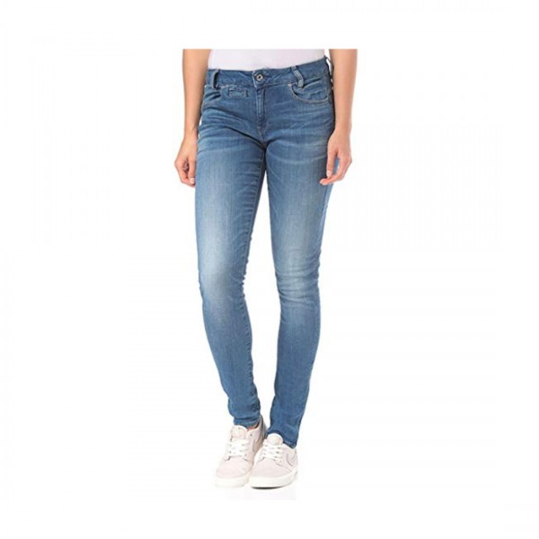 G-Star RAW Damen Hose Jeans 5 Pocket Mid Skinny