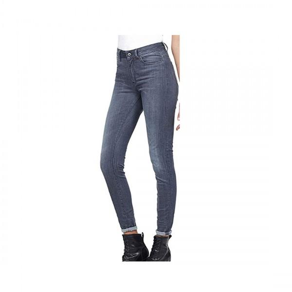 G-Star Raw Damen Jeans High Waist Shape Super Skinny Hose Render Grey Grau