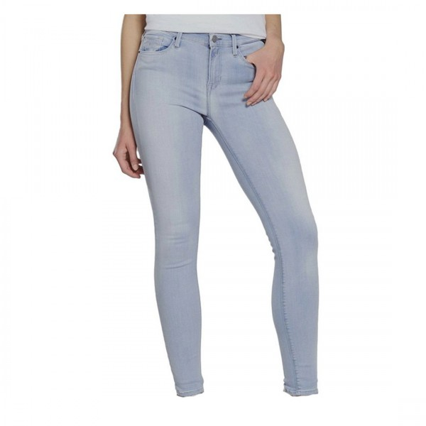 Replay Damen Jeans Hose Mod WX654 Hyperflex blau