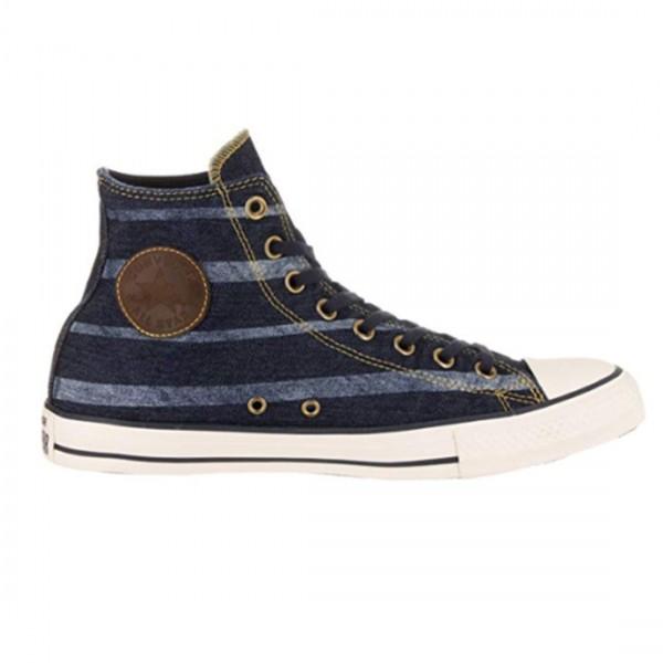 Converse All Star Unisex Schuhe Sneaker Chucks CT Print Hi blau Sterne