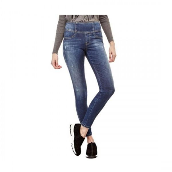 Guess Damen Jeans Curve X high Skinny Legging Shape Up Tonifiant
