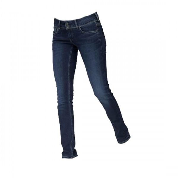 Pepe Jeans Damen Jeans Vera Jeanshose Hose Slim Fit Blau