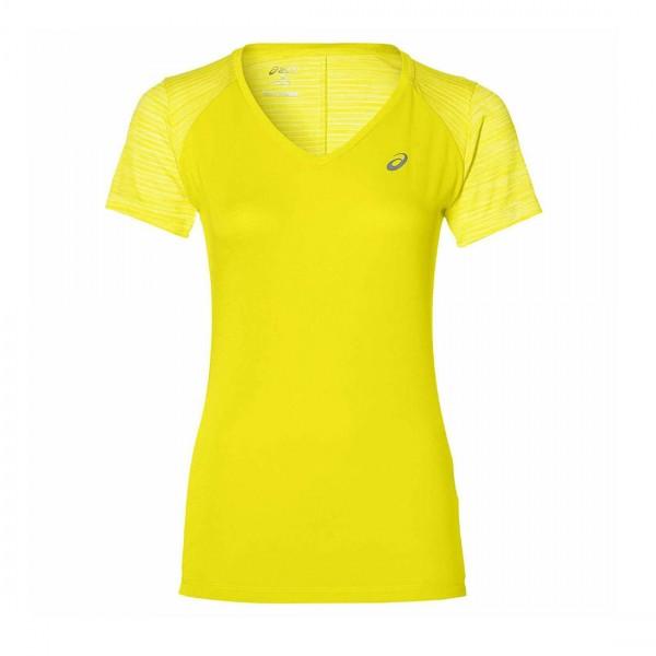 Asics Damen FuzeX Laufshirt Fitness Running Sportshirt Gelb