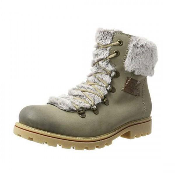 Rieker Damen Schuhe Herbst Winter Stiefelette Stiefel Boots