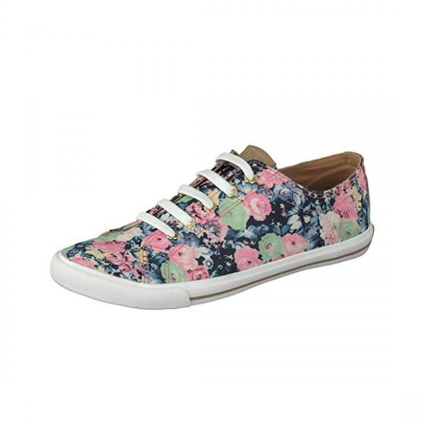 Gosch Shoes Sylt Damen Sneaker Schuh Blumenmuster