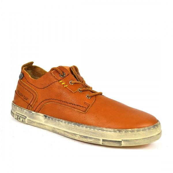 Yellow Cab SEAL M Sneakers Y12244 Leder Sneaker Herren Schnürschuh Brown