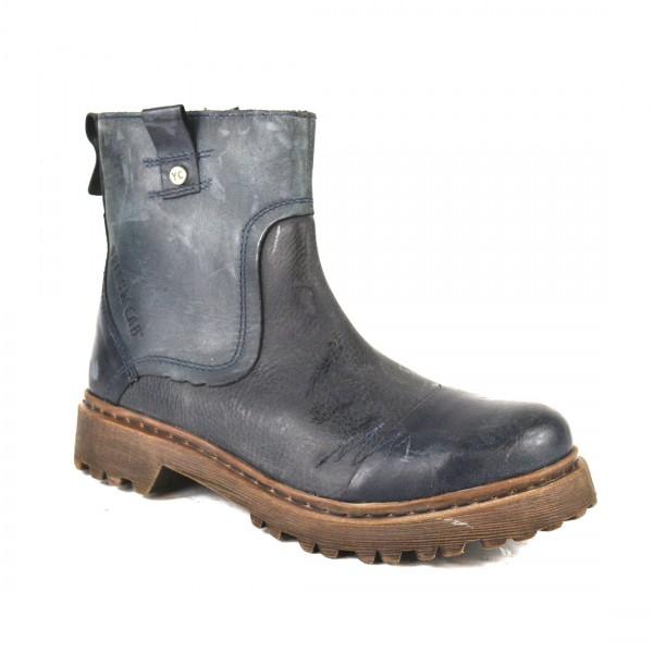 Yellow Cab Stone M Leder Boots Herren Kurzschaft Stiefel
