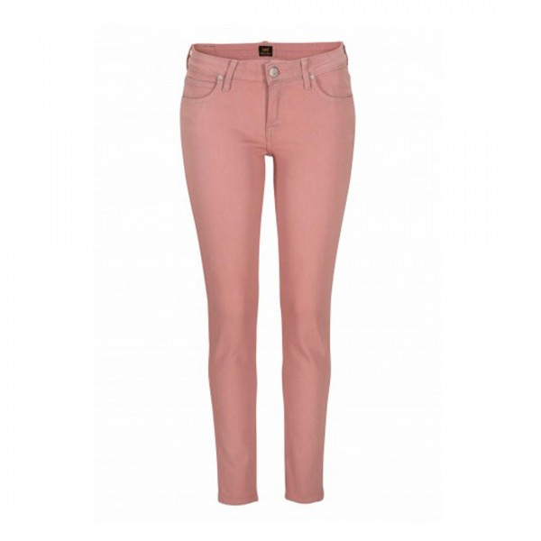 Lee® Damen Hose Stretch Jeans Scarlett rosa pastell