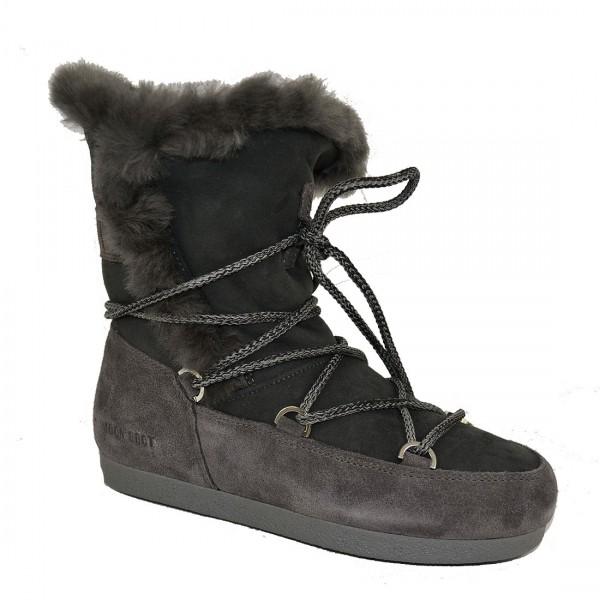 Moon Boot Damen Boots Leder Stiefel Schneestiefel Schuh Winterschuhe