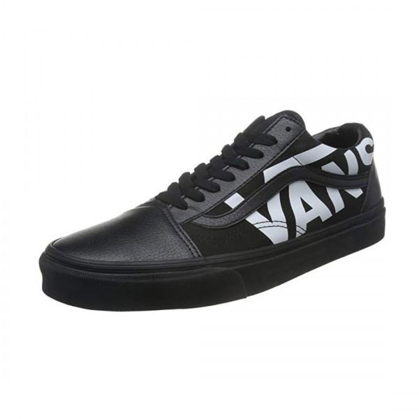 Vans Unisex Old Skool Sneaker Halbschuhe Schuhe Schwarz