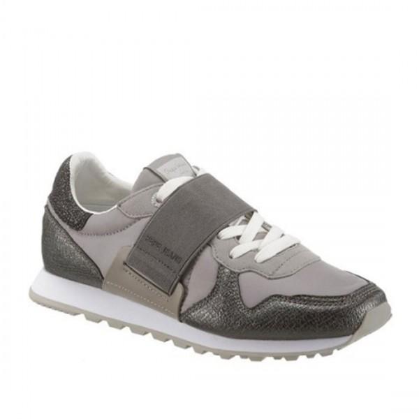 Pepe Jeans Sneakers Leder Damen Sneaker Schnürschuhe