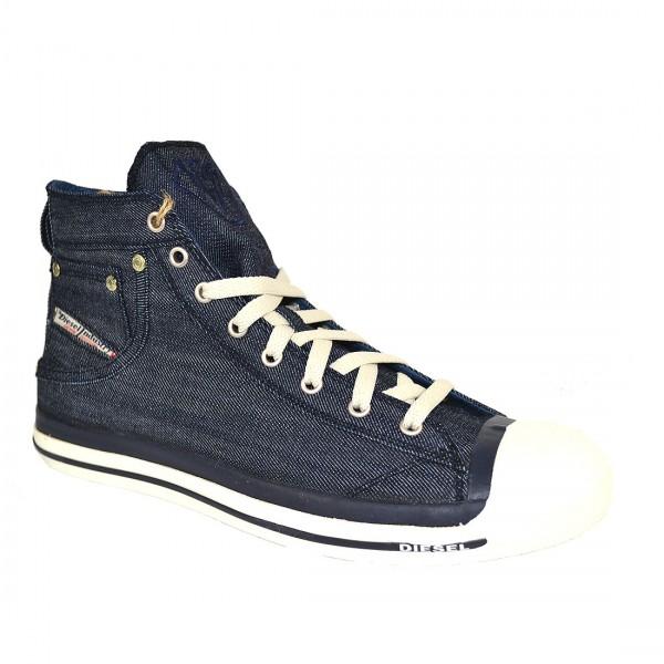 Diesel Herren Schuhe Sneaker High MAGNETE EXPOSURE Schuh Denim
