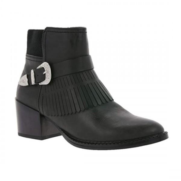 VERO MODA Fransen Schuhe Stiefeletten Ankle Boots