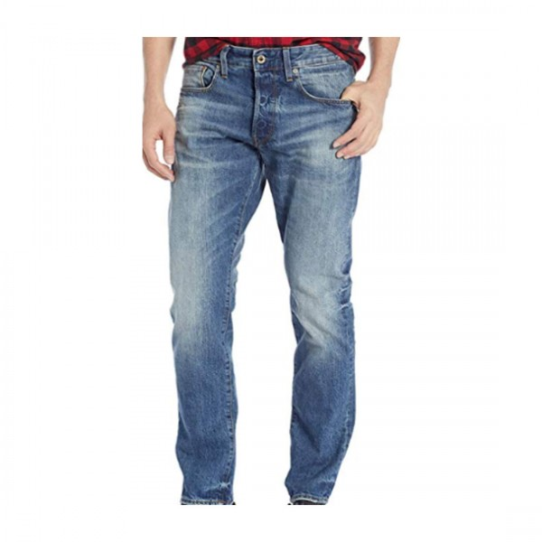 G-Star Raw Herren Hose Jeans 5 Pocket Jeans Blau
