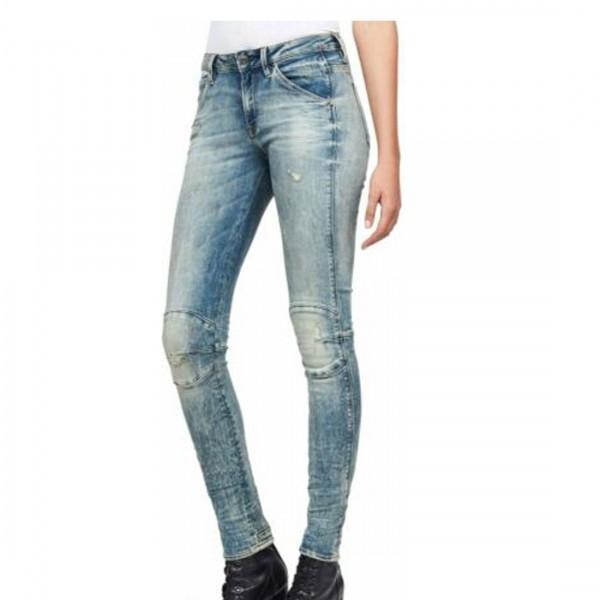 G-Star Raw Damen Hose D06722-8969-9114 Skinny Ankle Jeans blau