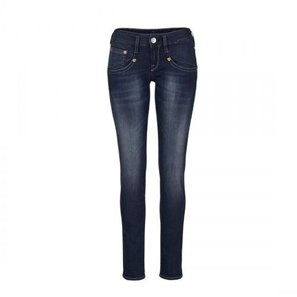 Herrlicher Damen Jeans Syra Slim 5 Pocket Low Waist