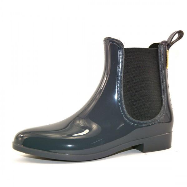 Springstar Damen Stiefel Gummistiefel Gummistiefeletten Regenstiefel Schuhe Chelsea Boots