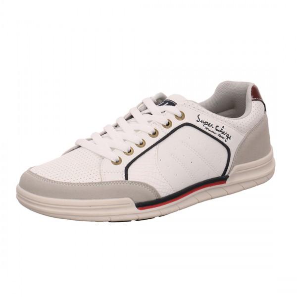 H.I.S Herren Schuhe Sneaker Schnürschuhe Weiß Sportlicher Schuh