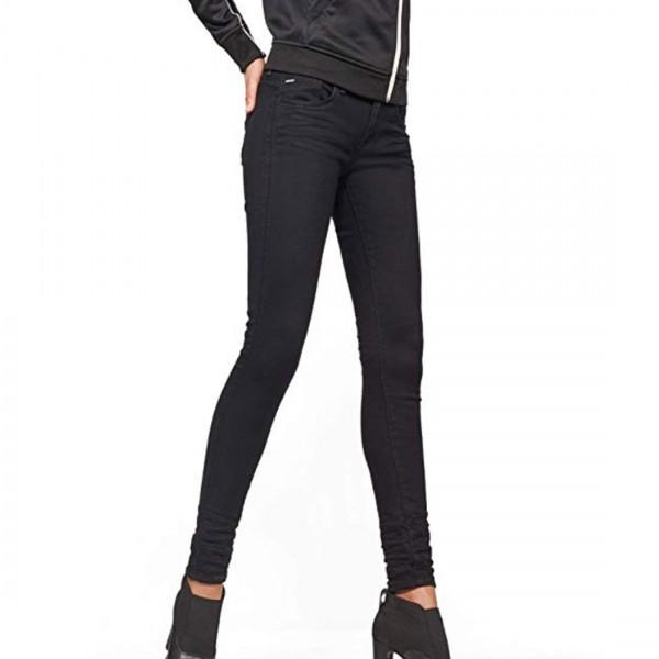 G-Star Raw Damen Jeanshose Lynn D-Mid-Waist Super Skinny