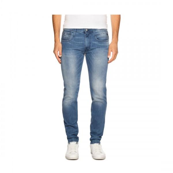 Replay Herren Jeans Slim Fit Anbass Light Blue