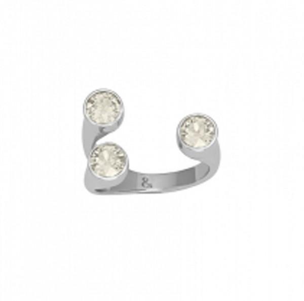 Lola & Grace Damen Ring Fingerring Swarovski®