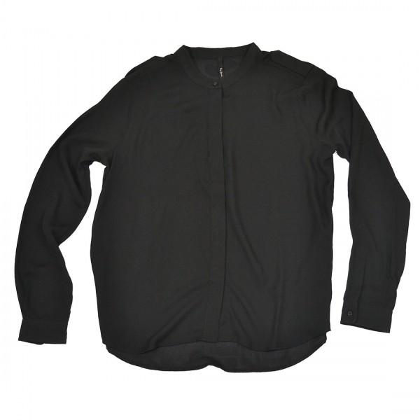 Pepe Jeans Damen Bluse Shirt Top Sisy Blusenshirt Schwarz
