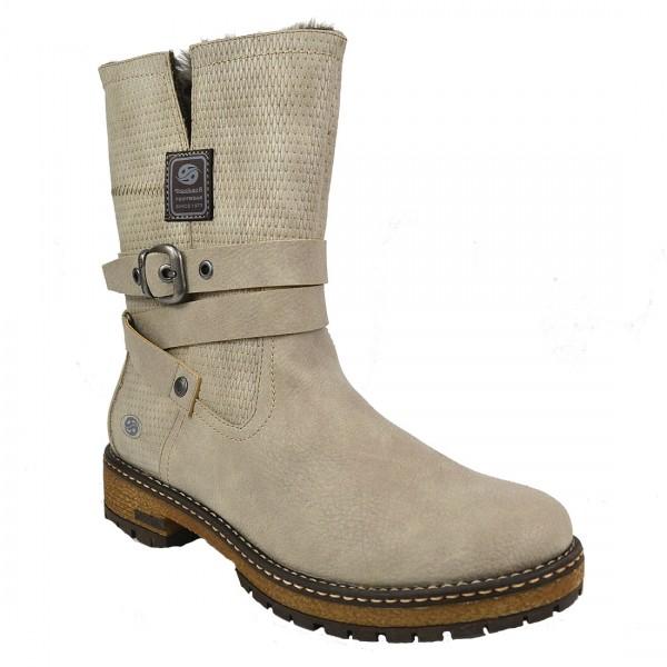 Dockers by Gerli Damen Stiefel Combat Boots Schuh Kurzstiefel Schuhe