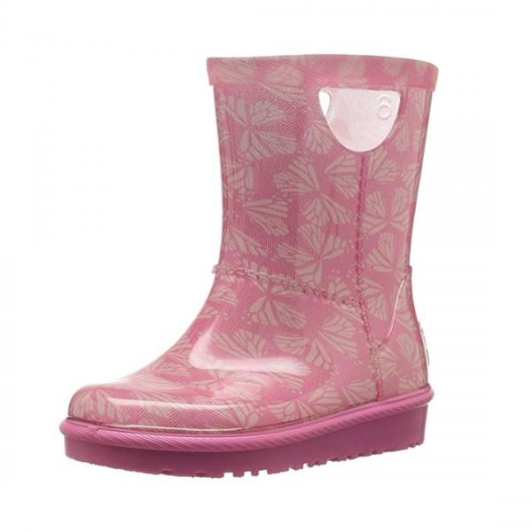 UGG® Mädchen Kinder Gummistiefel Matsch Stiefel Kids T Rahjee Butterflies Boots Pink