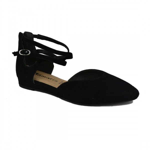 Tamaris Damen Riemchen Sandalen Keilsandalen Sandaletten Ballerina Schuh