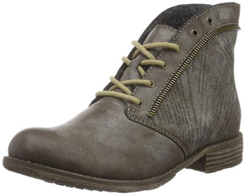 Rieker Damen Stiefel Stiefelette Schuhe Boots braun