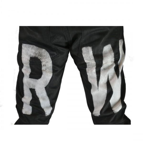 G-Star Raw Herren Hose Elwood 3D Tapered Painted Jeans 5620 Schwarz