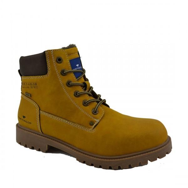 Tom Tailor Herren Stiefel Schuhe 3781001 Schnürschuhe Schuh Boots Braun Camel