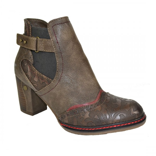Mustang Damen Ankle Boots Stiefelette Stiefel Schuh