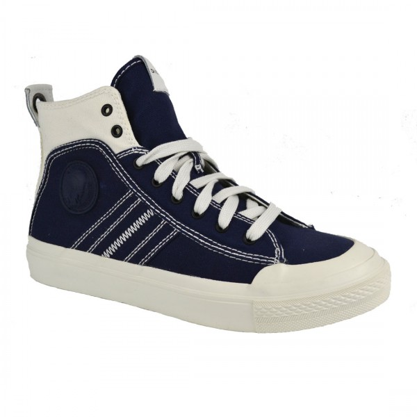 Diesel Herren Schuhe Sneaker High ASTICO S Mid Lace Navy Schuh