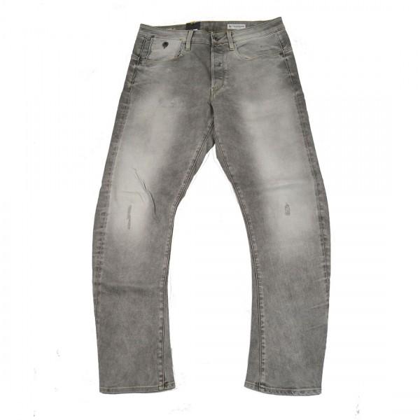 G-Star Raw Herren Hose Jeans Type-C 3D Tapered Fit Grau
