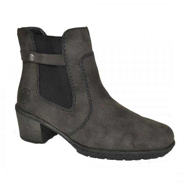 Rieker Damen Stiefelette Stiefel Schuh Chelsea Boots