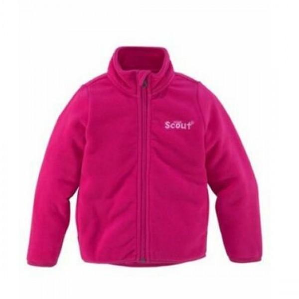 Scout Kinder Fleecejacke warme Jacke pink Stehkragen