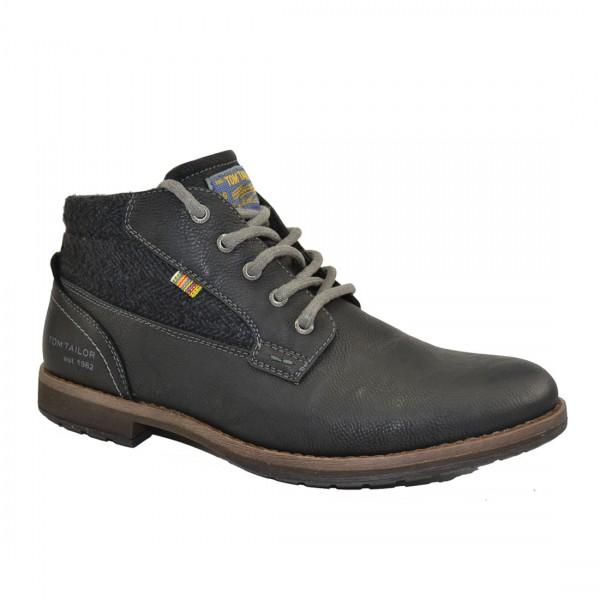 Tom Tailor Herren Schuhe 3781610 Sneaker Halbschuh Schuh Boots Sneakers Schwarz