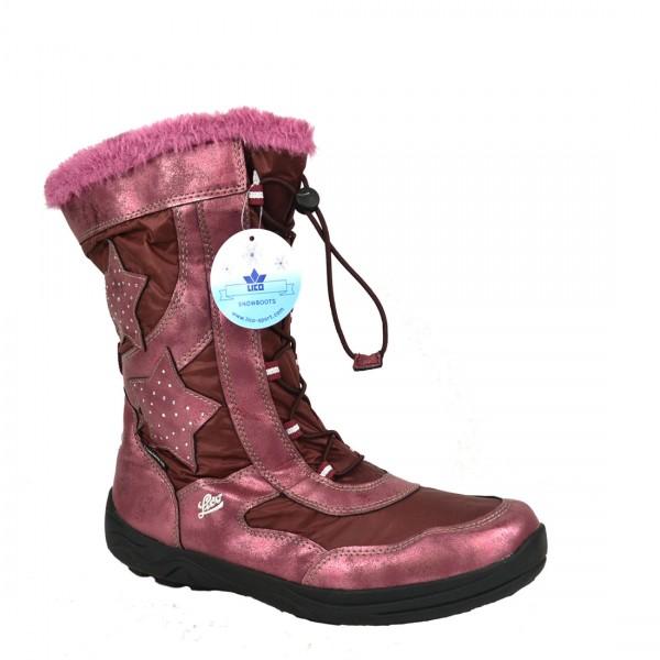LICO Damen Mädchen Stiefel Cathrin Winter Boots Schnee Schuh