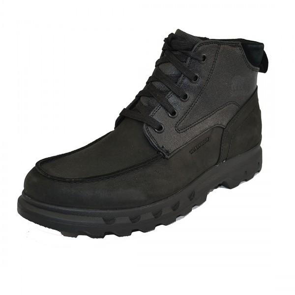 Sorel Portzman Moc Toe Herren Boots Winterschuhe Waterproof Winter Stiefel Schwarz
