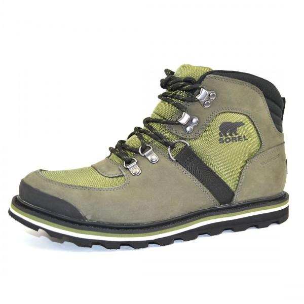 Sorel Madson Sport Hiker Herren Waterproof Stiefel Schuhe Boots Grün