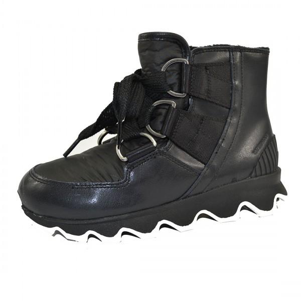 Sorel Kinetic Short Lace Damen Boots Winterschuhe Waterproof Winter Stiefel Schwarz