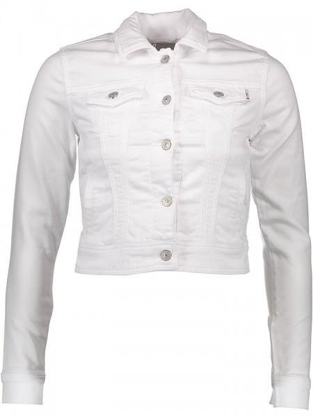 LTB Jeans Damen Destin Jacket Jacke Jeansjacke weiß