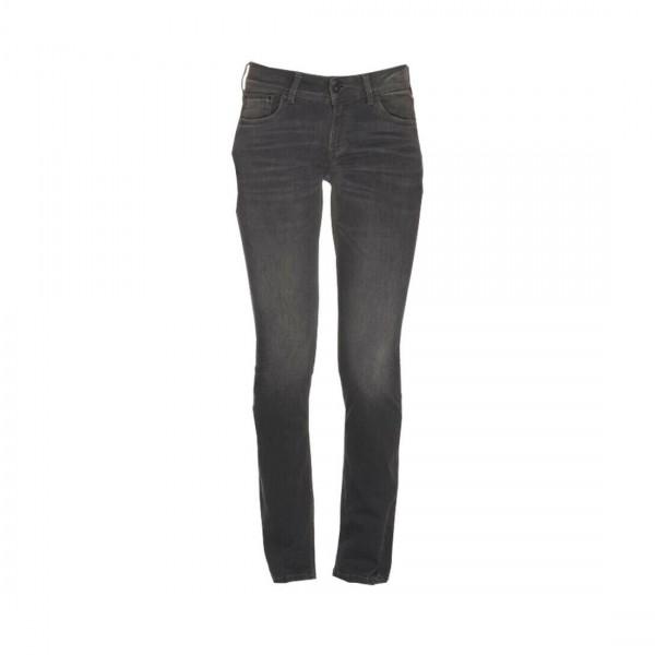 Pepe Jeans Damen Jeans Hose Saturn anthrazit gerades Bein