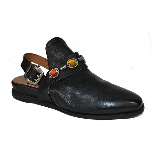 A.S.98 Airstep Damen GIUSTA Sling Leder Sandale Pantoletten Schuh