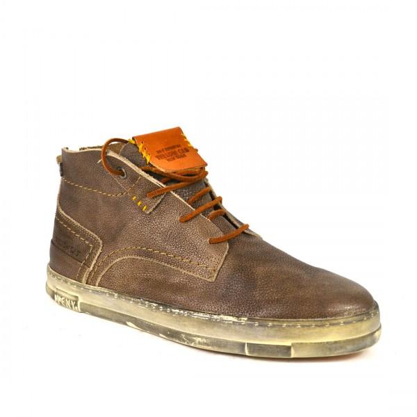 Yellow Cab SEAL M Sneakers Leder Sneaker Herren Halbschuh Brown
