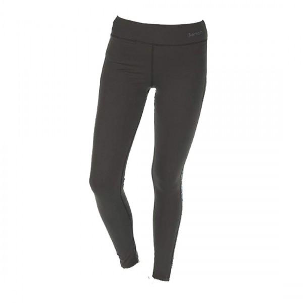Bench Damen Leggings Silent Tight Running Hose Fitness Grau